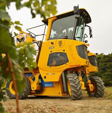 olive harvesting machine